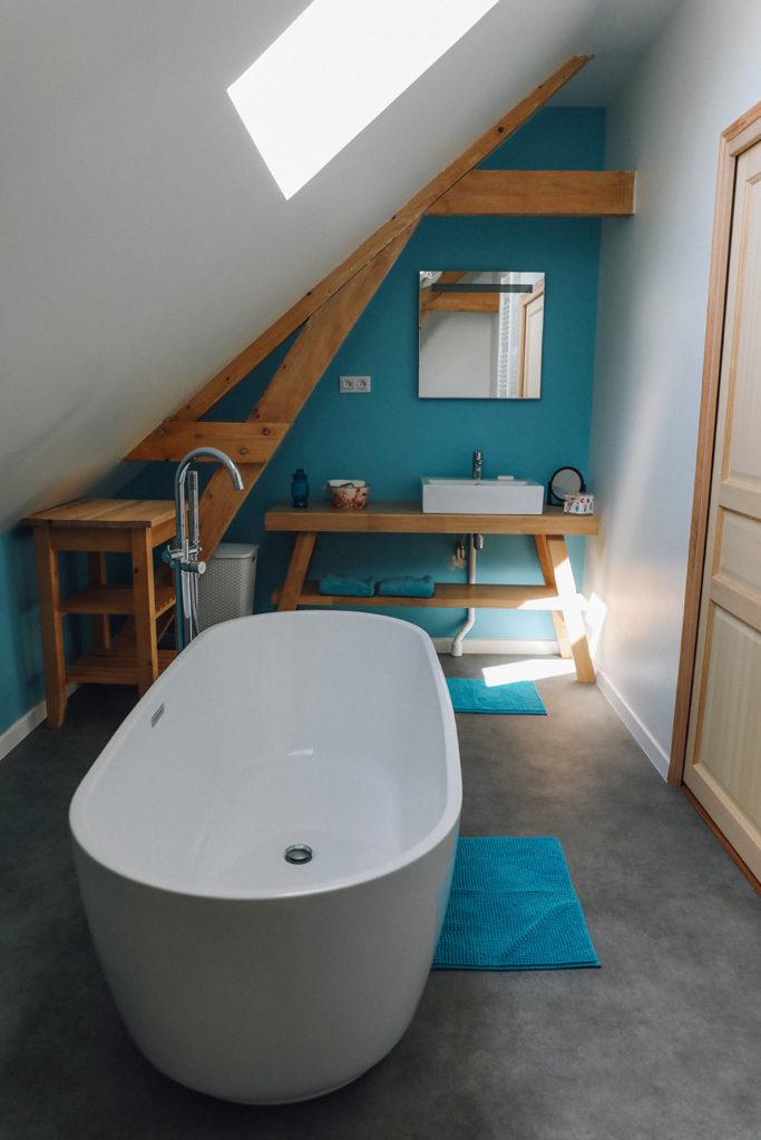 salle de bain gite côte d'opale